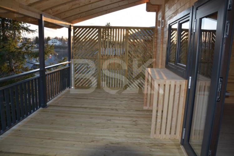 chalet de loisir sur terrain de 335 m²