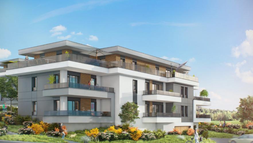 Villa de toit neuve, Attique T4 de 93m²