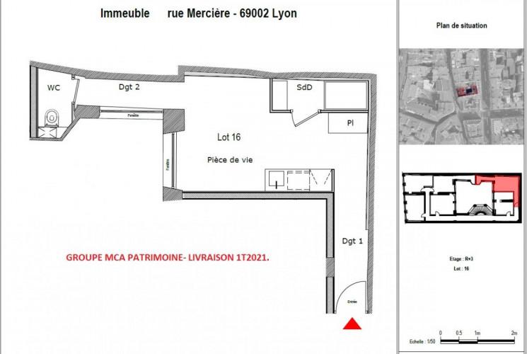 LYON 2/ PRESQU'ILE/ STUDIO Cordeliers - 24194