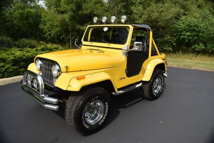 Jeep CJ 1980