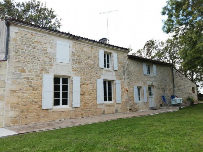 Maison à vendre - GRANDJEAN - 17350 - Terrain 6000 m² - 4