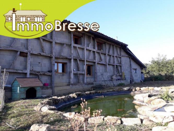 Lescheroux - A Vendre Ferme 135 m²