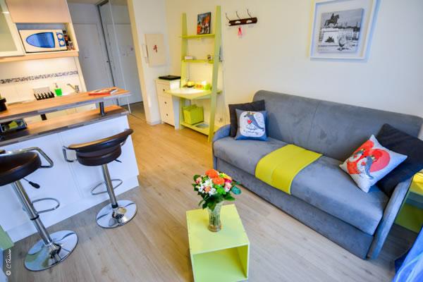 Studio meublé 22m² Lyon 8
