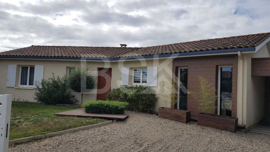Plain pied contemporain 110 m²