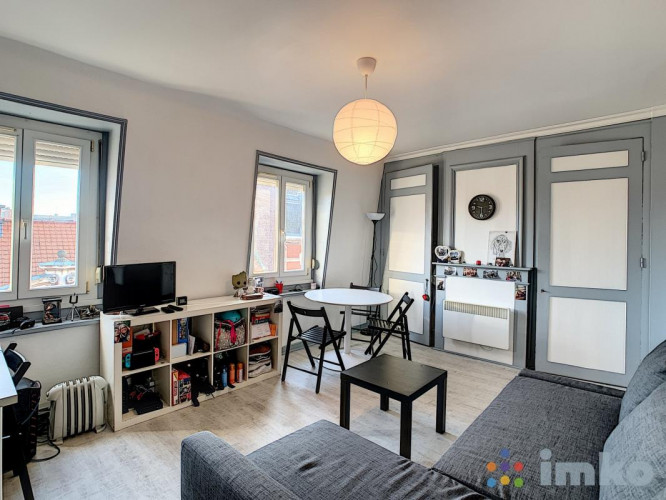 Studio d'envi 28 m2 bois blanc