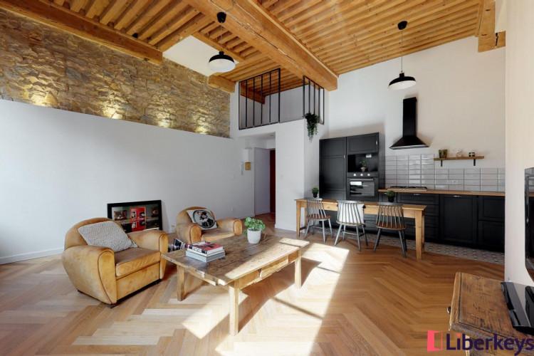 Appartement 3 pièces de 68.0m²   Grande Rue de Saint Clair   Caluire-et-Cuire