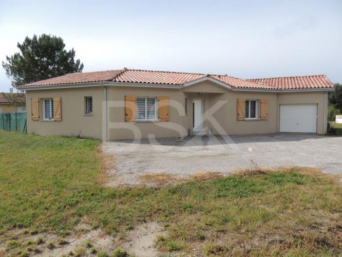 Maison contemporaine de 115 m² sur un terrain de 965 m²