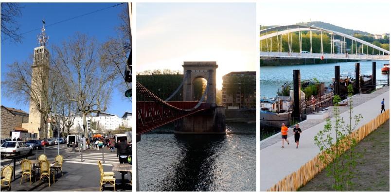 LYON 9/ PLACE DE PARIS/ 1 PIECE. - 25321