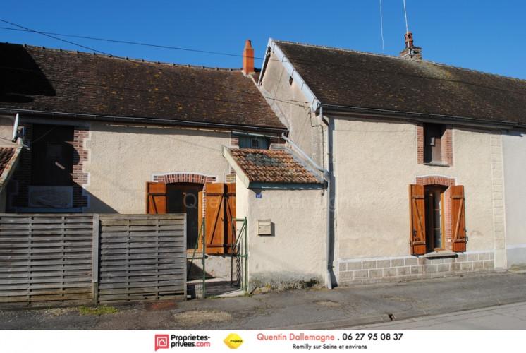 Maison de village T2 50 m2 à 10 minutes de Romilly sur Seine et Nogent sur Seine