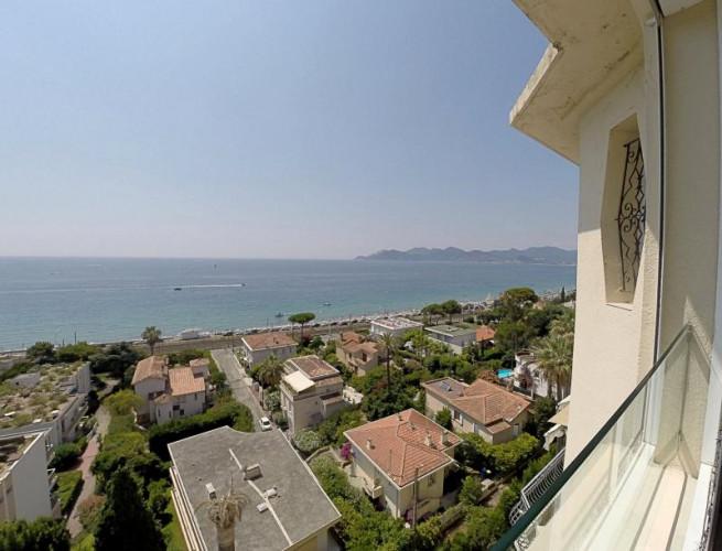 Cannes (06) à vendre appartement d'exception dans monument classé avec vue mer panoramique