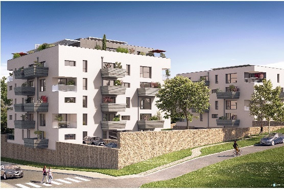ST GENIS POUILLY - APPARTEMENTS T 4 - T 5  - GRANDES TERRASSES