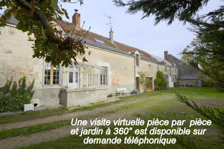 Entre Mer et Blois belle longère de 320m2 sur 1403 m2 clos