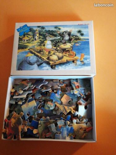 Puzzle 108 pièces