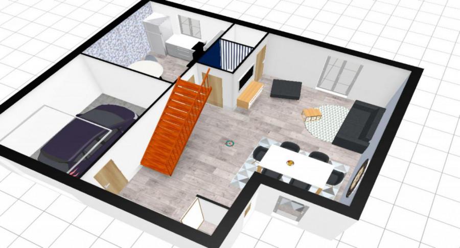 Agréable maison avec jardin et garage
