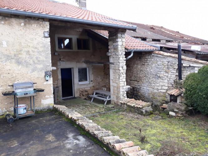 Maison de campagne meusienne 3ch / Terrain 1400 m²