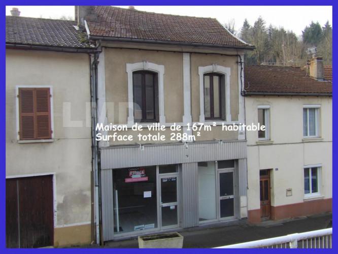 Maison de ville Aveyron investisseur