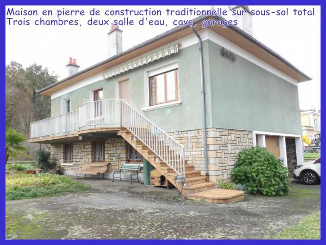 Maison de construction traditionnelle, Aveyron