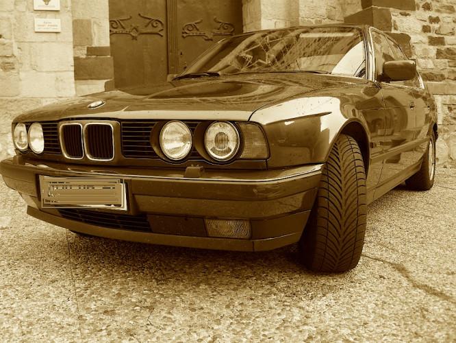 RARE BWW 525 IX 1994 WORDLINE (E34) - 4 roues motrices-