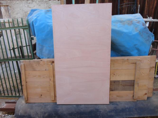 panneaux cadres bois