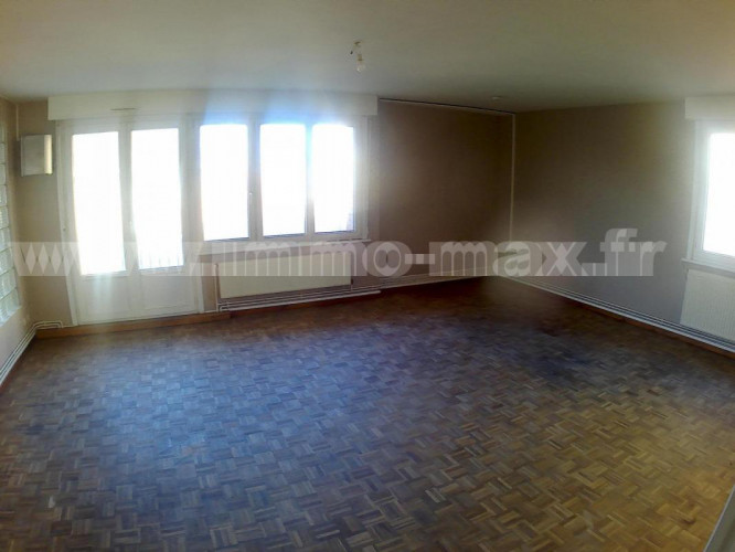 Appartement 4 chambres, balcon, garage, Dunkerque centre