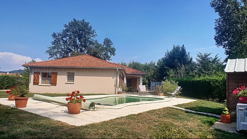 Villemotier - A vendre jolie villa avec piscine - Terrain de 961 m²