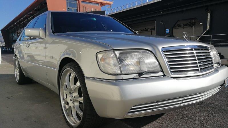 Vend Mercedes 600 V12