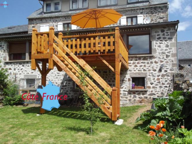 CANTAL ALBEPIERRE Belle maison de caractére - Gîtes 3 clefs 3 étoiles Vallée du Lioran