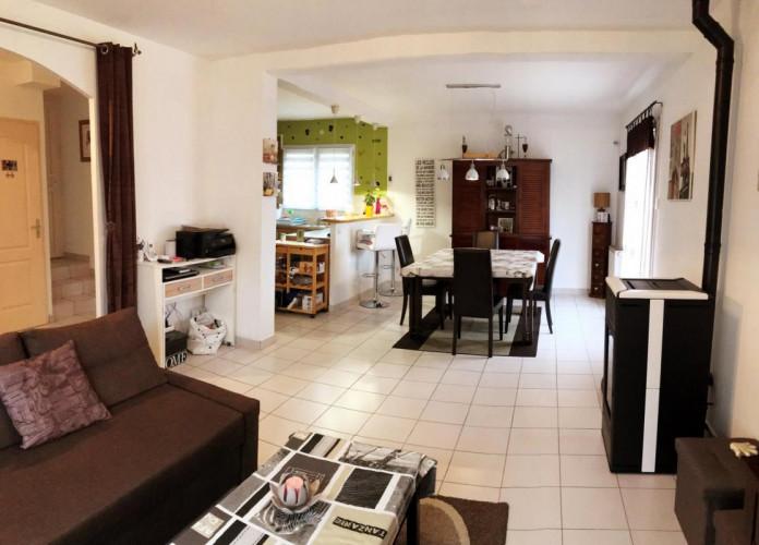 Maison 90m2 + garage + exterieur