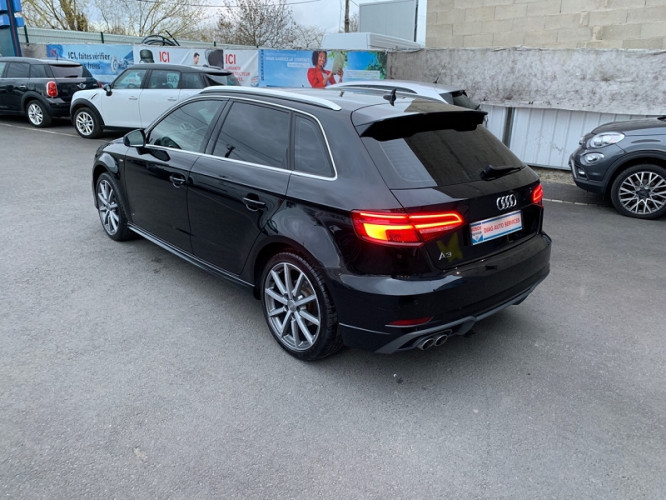 audi a3 sportback 2 0 tdi 150ch design luxe s tronic 6. Black Bedroom Furniture Sets. Home Design Ideas