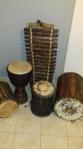 instruments percussions professionels