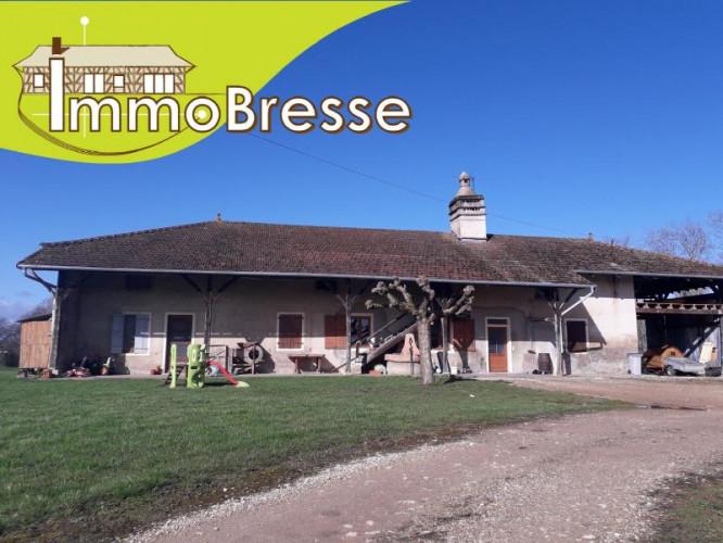 Saint Trivier de Courtes - A vendre ferme