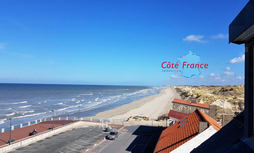 BAIE DE SOMME QUEND PLAGE Les Pins -  DUPLEX 45 m² en front de mer avec revenus locatifs