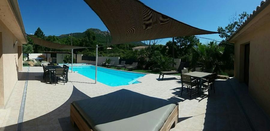Vente Villa moderne avec T2 à Sainte Lucie de Porto Vecchio