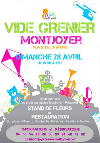VIDE GRENIER DE MONTJOYER