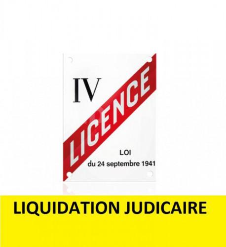 liquidation judiciare: licence 4