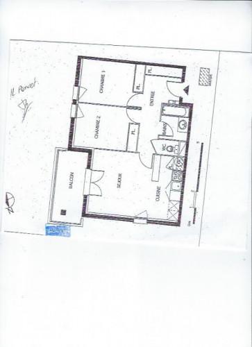 très bel appartement à louer avec balcon nord Gironde