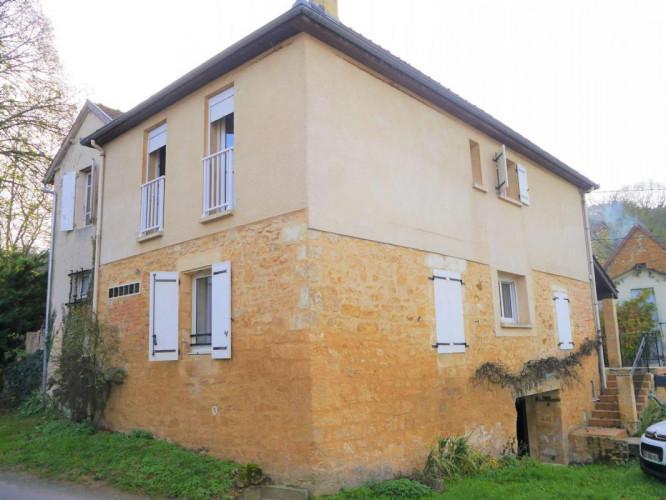 Maison en pierres T4 à Gourdon 46300