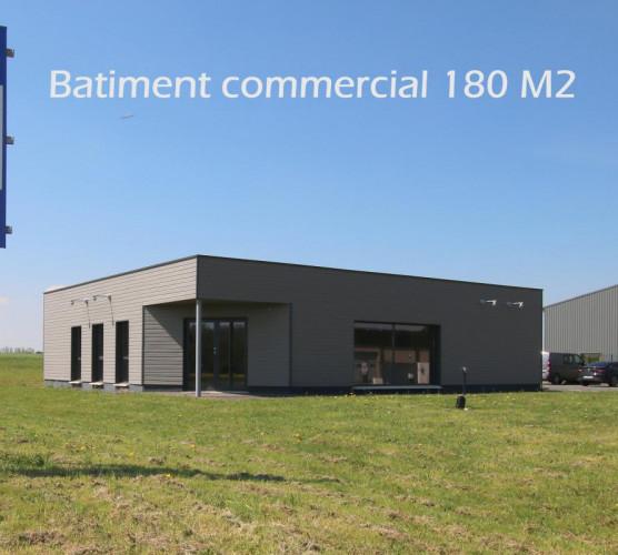 Batiment commercial ou Artisanal 180 M2