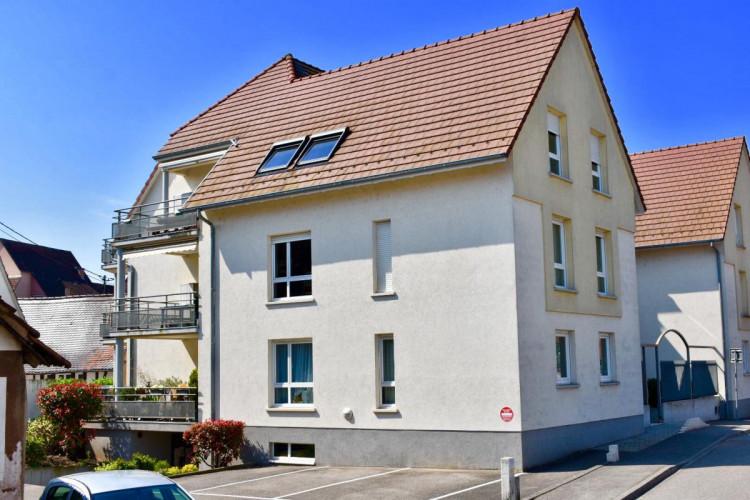 Appartement 4/5 pc es de 89 m2 à Brumath