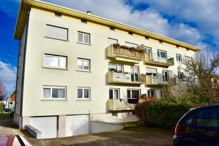 Appartement 5 pces de 87 m2 à Hoenheim