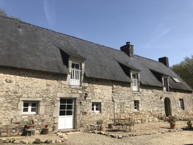 Maison située en campagne