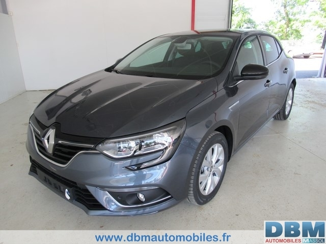 Renault Mégane IV Limited Blue dCi 115
