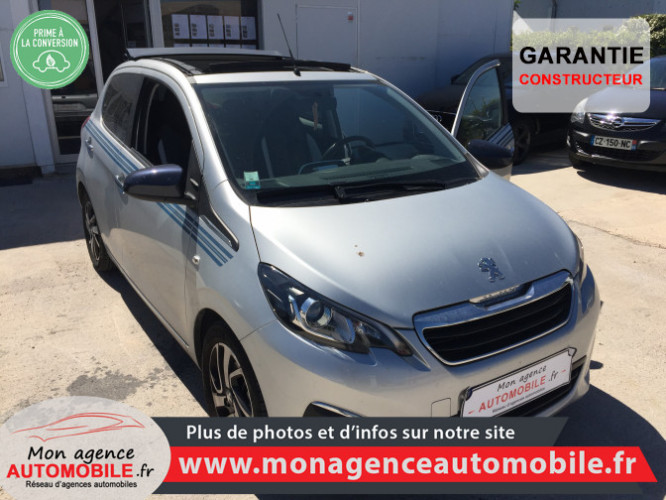 Peugeot 108 1.2 VTi Découvrable Top Collection