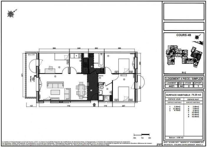 Sublime T4 en duplex de 75 m2 en TVA 5.5 % sur STAINS