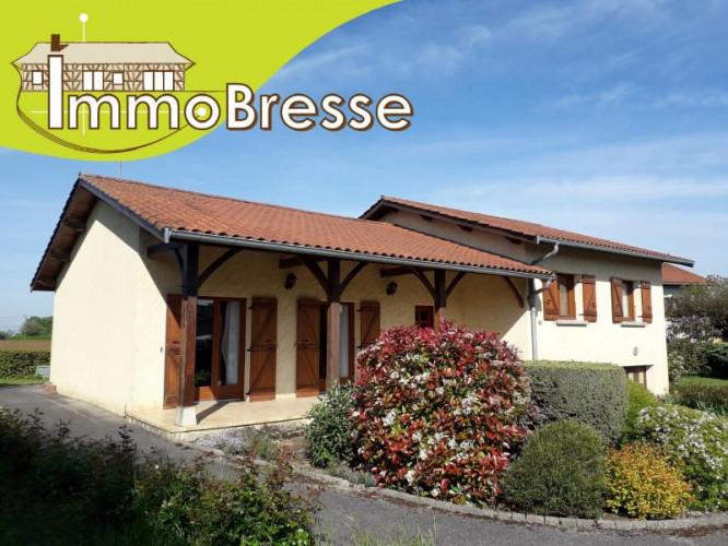 Saint Trivier De Courtes - A Vendre Maison