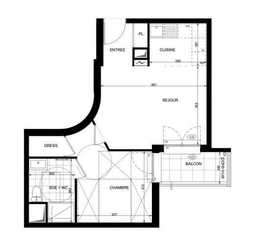 Appartement 2 pièces - Neuilly-Plaisance
