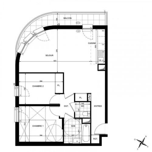 Appartement 3 pièces - Neuilly-Plaisance