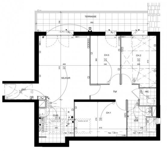 Appartement 4 pièces - Livry Gargan