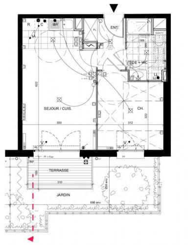 Appartement 2 pièces et Jardin