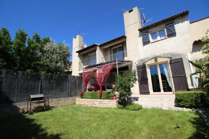 La Fare-les-Oliviers 13580 - Maison mitoyenne R+1 de 105m2 avec